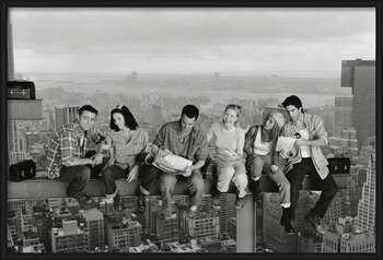 Friends - Lunch On A Skyscraper bekeretezett plakát