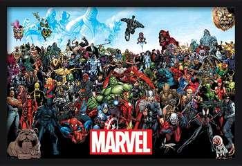 Marvel - Universe bekeretezett plakát