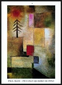 P.Klee - Piccolo Quadro Di Pino bekeretezett plakát