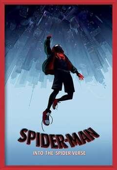 Pókember: Irány a Pókverzum! - Fall bekeretezett plakát