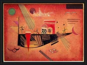 Wassily Kandinsky - Whimsical bekeretezett plakát