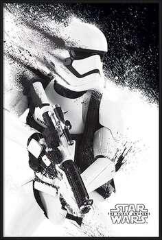 Bekeretezett plakát Star Wars Episode VII: The Force Awakens - Stormtrooper Paint