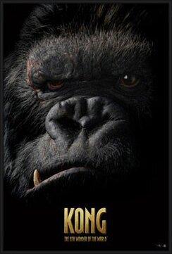 KING KONG - face Plakát