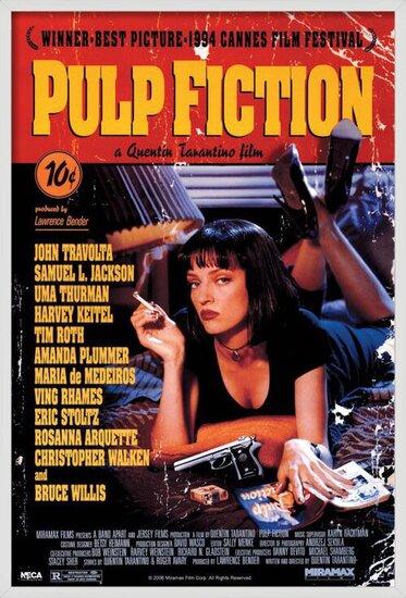 PULP FICTION - cover Plakát
