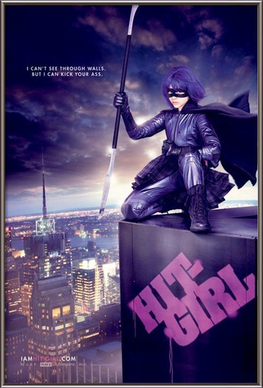 KICKASS - hit girl Plakát