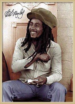 Bob Marley - rolling 2 Plakát