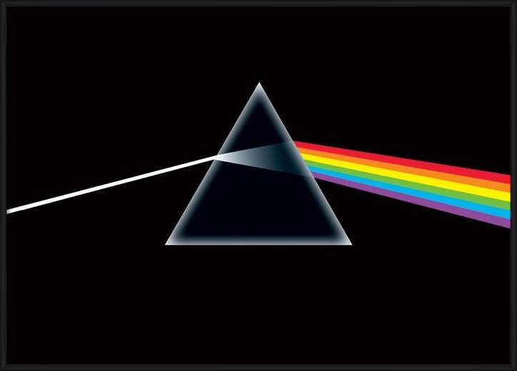 Pink Floyd - dark side Plakát