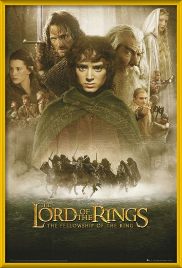 LORD OF THE RINGS - fellowship Plakát