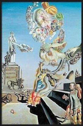 The Lugubrious Game, 1929 Festmény reprodukció