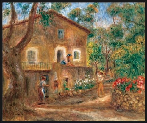 The Collette House in Cagnes, 1912 Festmény reprodukció