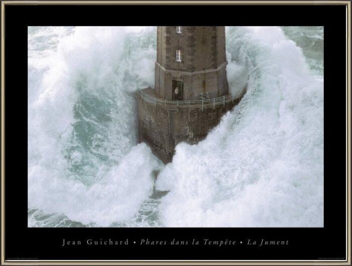 Jean Guichard - Phares Dans La Tempète, La Jument Festmény reprodukció