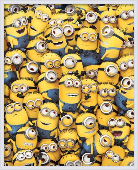 Gru - Many Minions Plakát