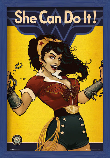 DC Comics - Wonder Woman Bombshell Plakát