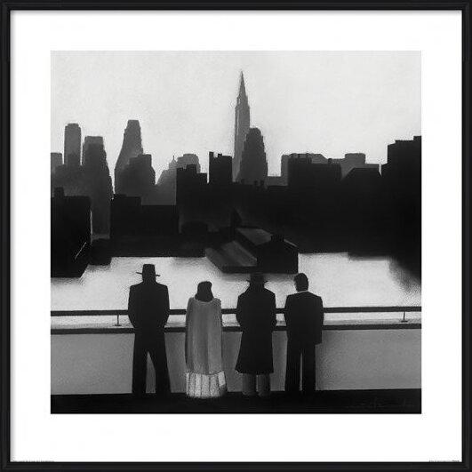 David Cowden - Skyline Festmény reprodukció