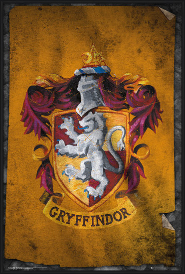 Harry Potter - Griffendél Plakát