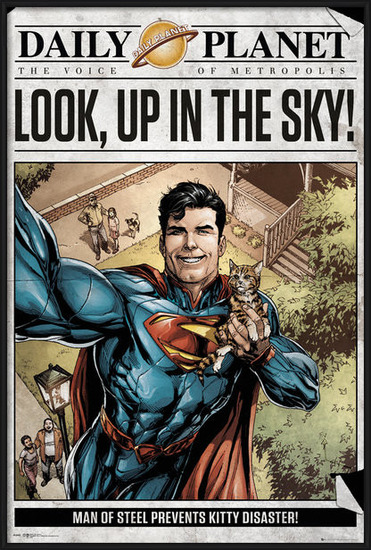 Superman - Daily Planet Plakát
