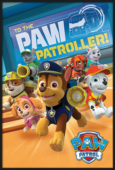 A mancs őrjárat - To The Paw Patroller Plakát