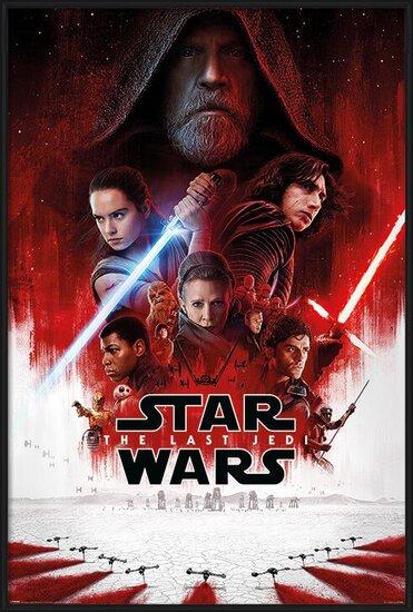 A Csillagok háborúja VIII: Az utolsó Jedik - One Sheet Plakát