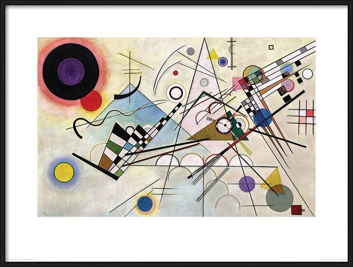 Wassily Kandinsky - Composition VIII Festmény reprodukció