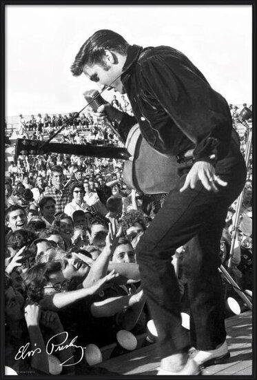 Elvis Presley - stage Plakát