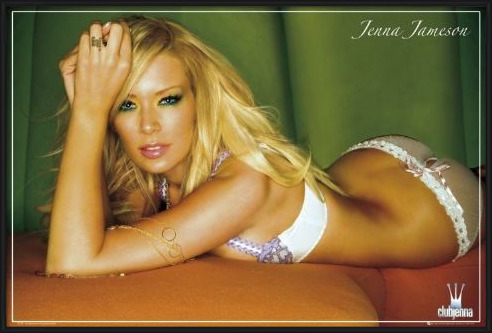 Jenna Jameson - underwear Plakát