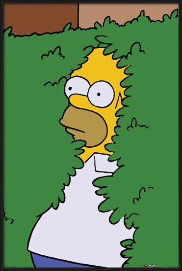 A Simpson család - Homer Bush Plakát