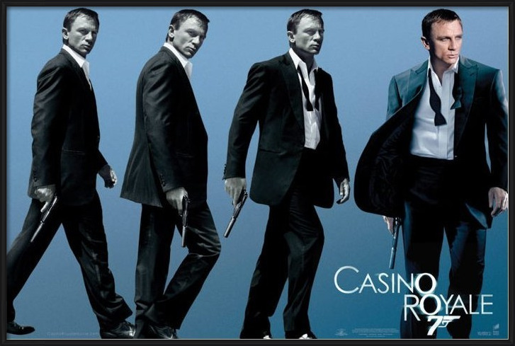 JAMES BOND 007 - casino royale Plakát
