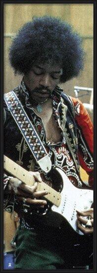 Jimi Hendrix - studio Plakát
