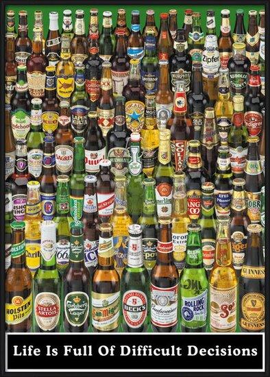 Beer - life is full ... Plakát