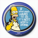 THE SIMPSONS - homer hard to do